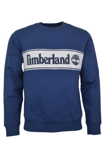 Timberland - Cut Sew Sweat - Petrol Blue