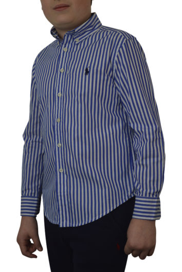 Ralph Lauren - LS Stripe Shirt - Blue