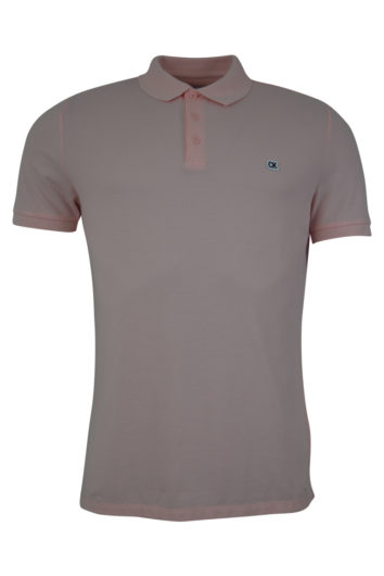 Calvin Klein - Short sleeved Polo - Straw