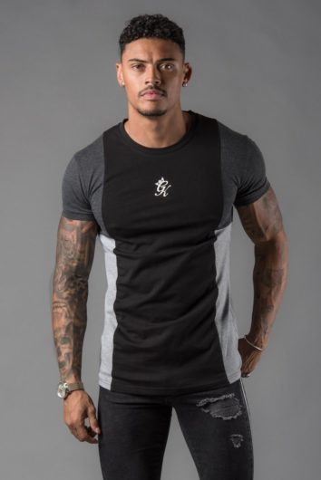 Gym King – Front Panel T-Shirt – Black Charcoal 419b085af