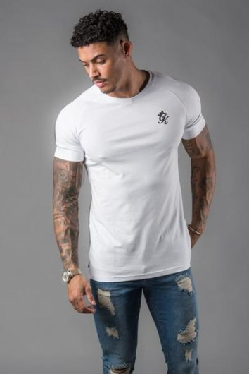 Gym King – Core Plus T-Shirt – White 8b008035d