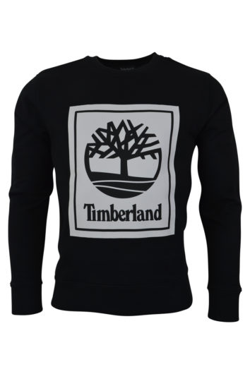 Timberland - Stack Logo Sweat - Black