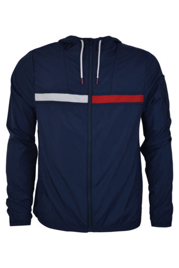 Tommy Hilfiger - 416 Windbreaker Jacket - Navy