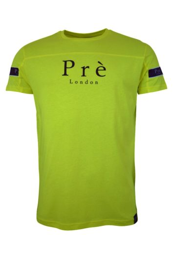 Pré London - Eclipse T-Shirt - Neon Yellow