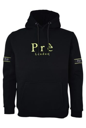 Pré London - Eclipse Hoodie - Black/Neon
