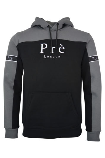 Pré London - Eclipse Hoodie - Black/Grey