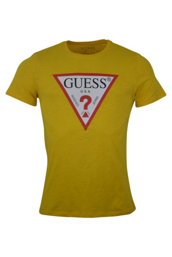 Guess - Colourful T-Shirt - Yellow