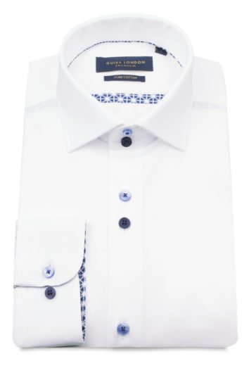 Guide London - Long Sleeve Shirt 74999 - White