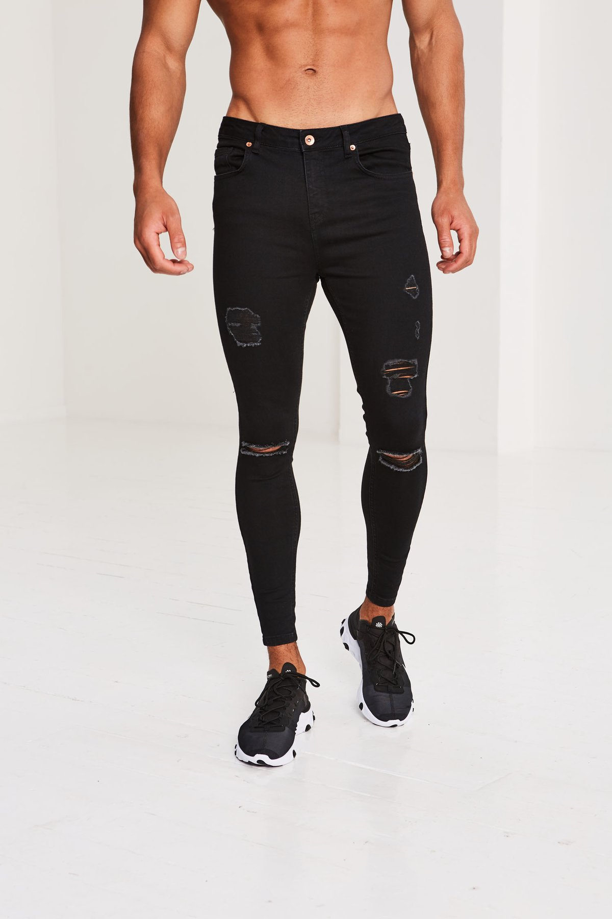 Pré London – Ripped and Repaired – Black