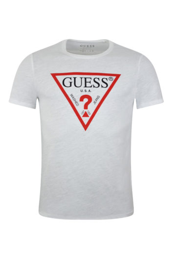 guess logo t-shirt for men baccus essex