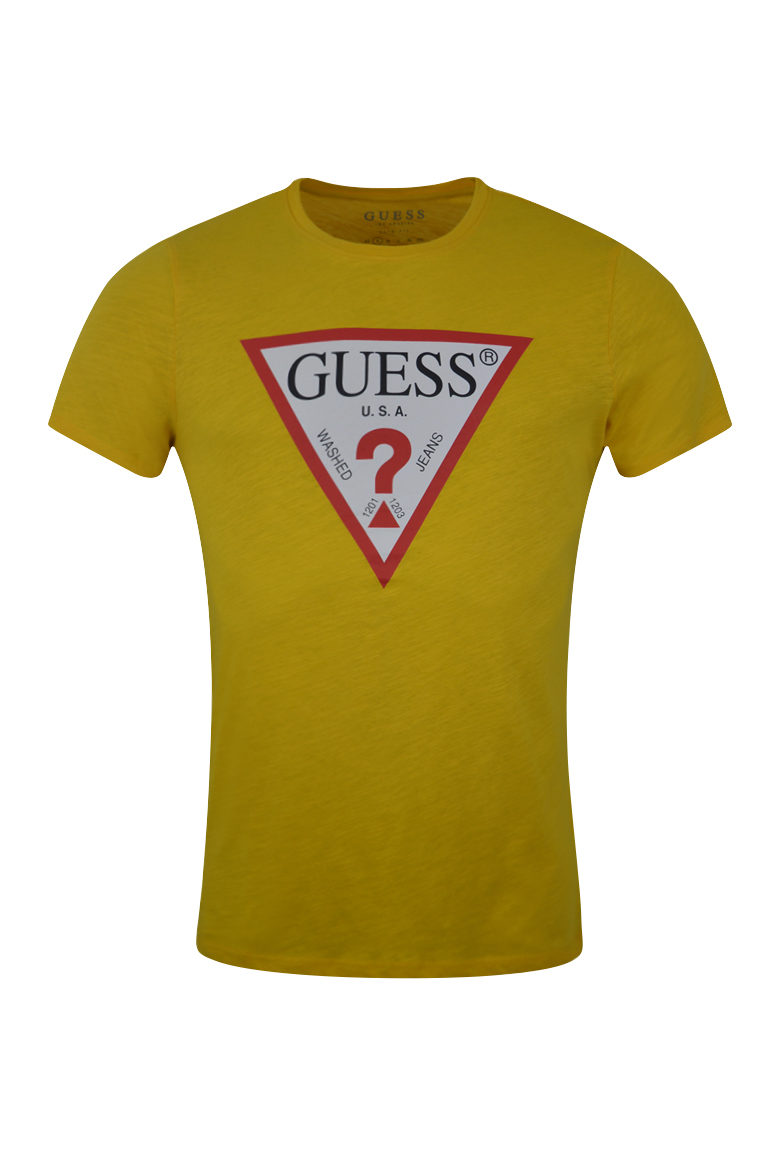guess mens colourful t-shirt baccus essex