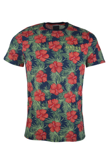 Guess - Barnaby Floral T-Shirt - Navy