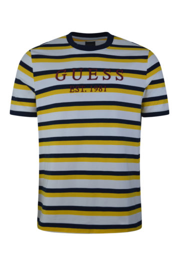 guess men's rod t-shirt baccus essex