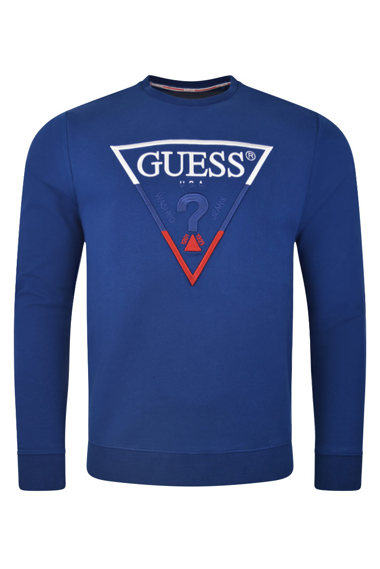 guess mens sweatshirt baccus essex