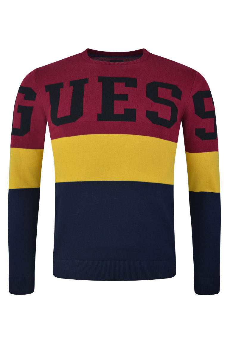 guess mens instarsi sweatshirt baccus essex