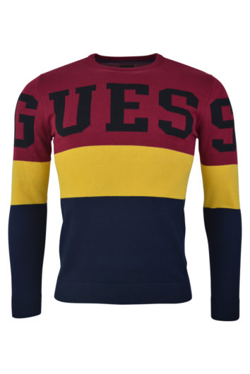 Guess - Intarsi Sweat - Multicolour