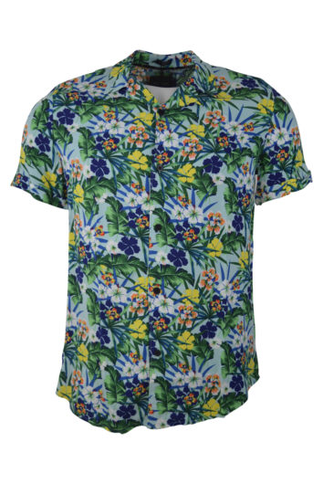 Guess - Hawaian Shirt - Green