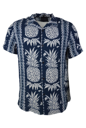 Guess - Hawaian Shirt - Navy