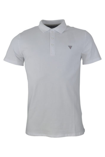 Guess - Duane Polo Shirt - White