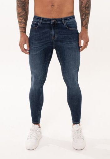 Nimes - Non Ripped Jeans - Midnight Blue