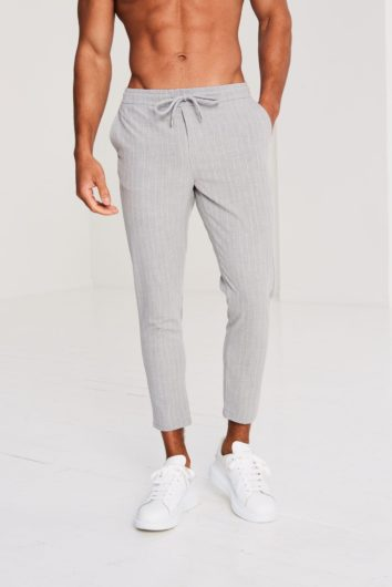 Pré London - Pinstripe Trouser - Grey