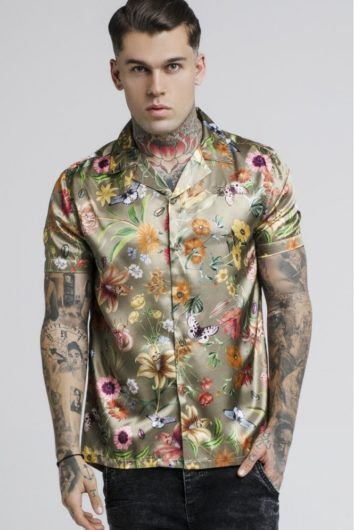 Sik Silk - Garden resort Shirt - Khaki