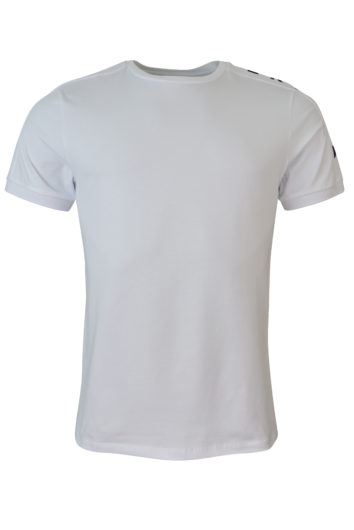 Karl Lagerfeld - Taped Shoulder T-Shirt - White