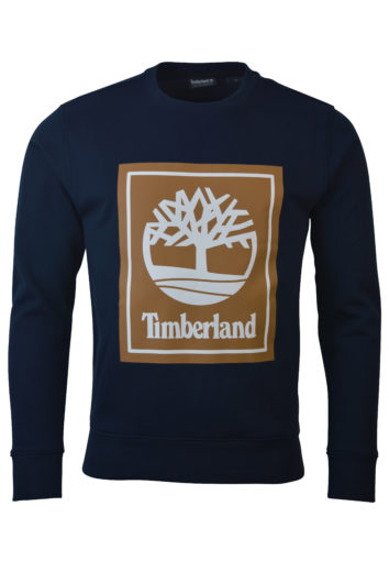 Timberland - Stack Logo Sweat - Navy