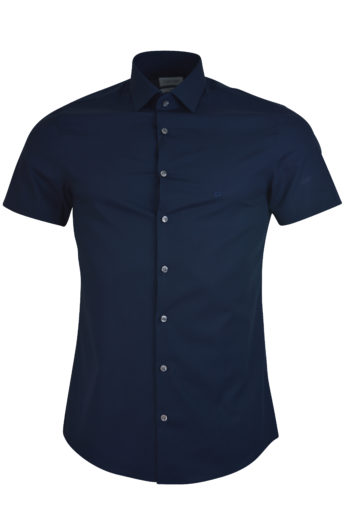 Calvin Klein - HS Shirt Poplin - Midnight Blue