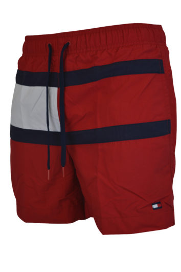 Tommy Hilfiger - 095 Swimshort - Red