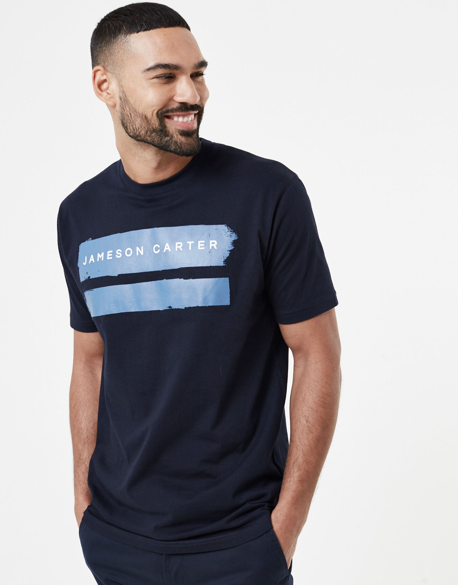 e159510efc1 Jameson Carter - Paint Stripe T-Shirt - Blue - Baccus