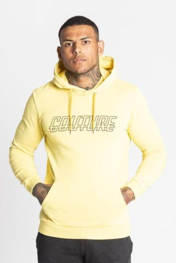 Fresh Couture - Rodemack Acid Wash Hood - Yellow