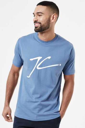 Jameson Carter - Large JC T-Shirt - Blue