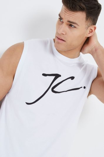 Jameson Carter - Sleeveless T-Shirt - White