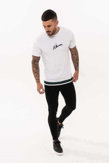 Nimes - Outline T-Shirt - White