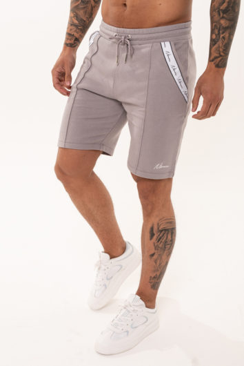 Nimes - Signature Tape Shorts - Grey