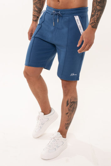 Nimes - Signature Tape Shorts - Navy