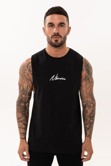 Nimes - Sleeveless T-Shirt - Black