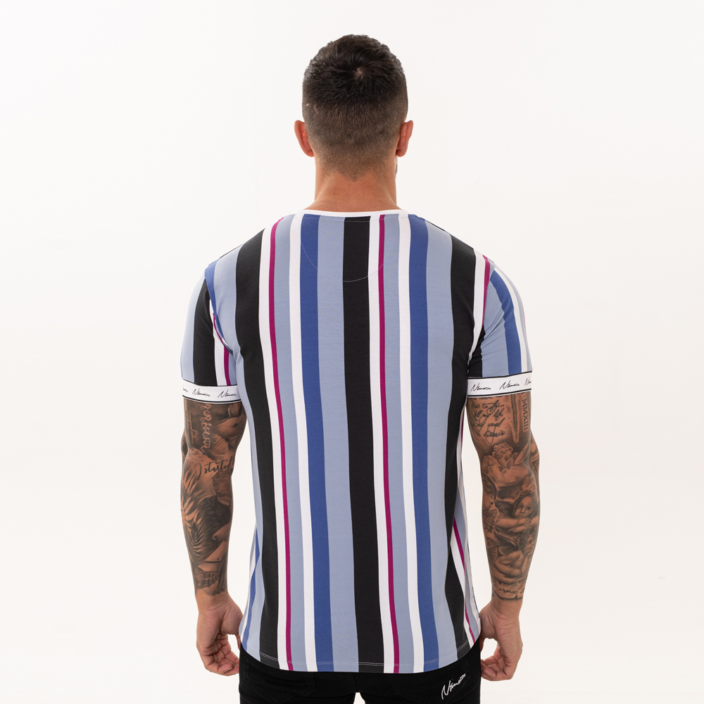 Blue Nimes Light T Shirt Stripe v0N8mwn