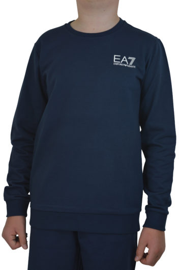 EA7 JNR - 3GBM51 Sweat - Navy