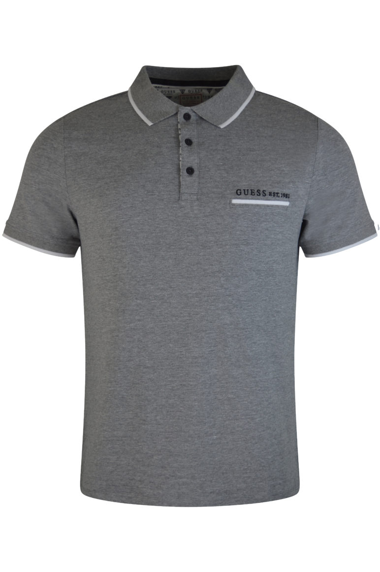 Guess - Bret Polo - Grey