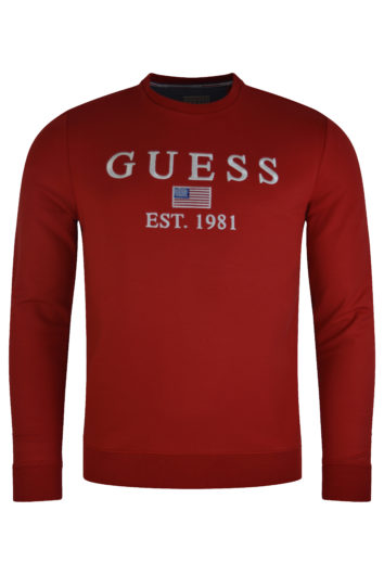 Guess - Elwin Sweat - Red
