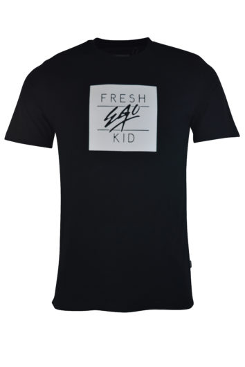 Fresh Ego Kid - 10021 T-Shirt - Black/White