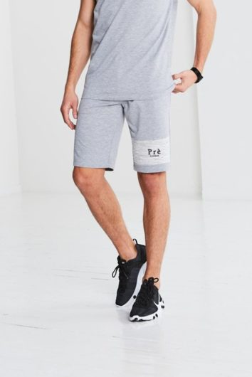 Pré London - Ripple Shorts - Grey