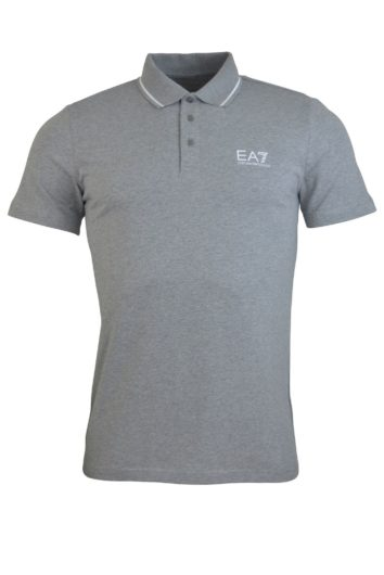 EA7 - 3GPF51 Short Sleeve Polo - Grey