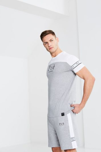 Pré London - Eclipse Twin T-Shirt - Grey