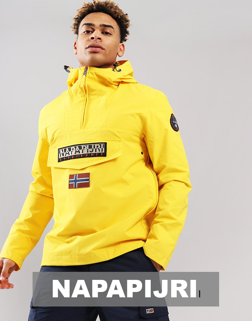 napapijri new brand at baccus for men