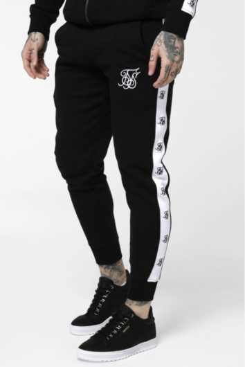 Sik Silk - Muscle Fit Jogger - Black