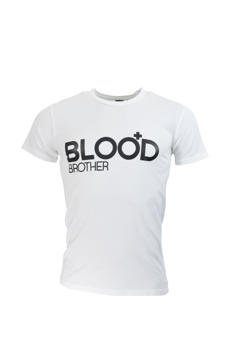Blood Brother - Trademark T-Shirt - White
