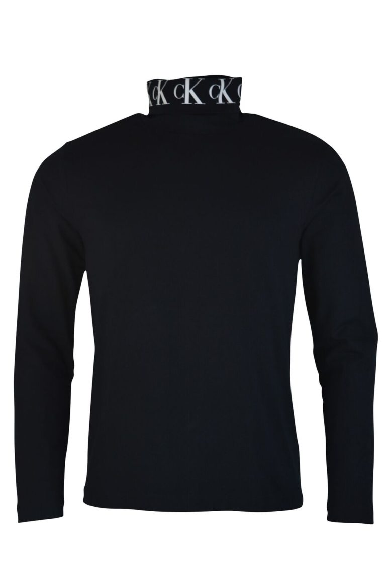 Calvin Klein - 13678 Turtle Neck - Black